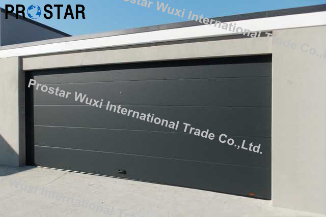 Automatic Insulated CE Approved Garage Door with High Speed Door Opener