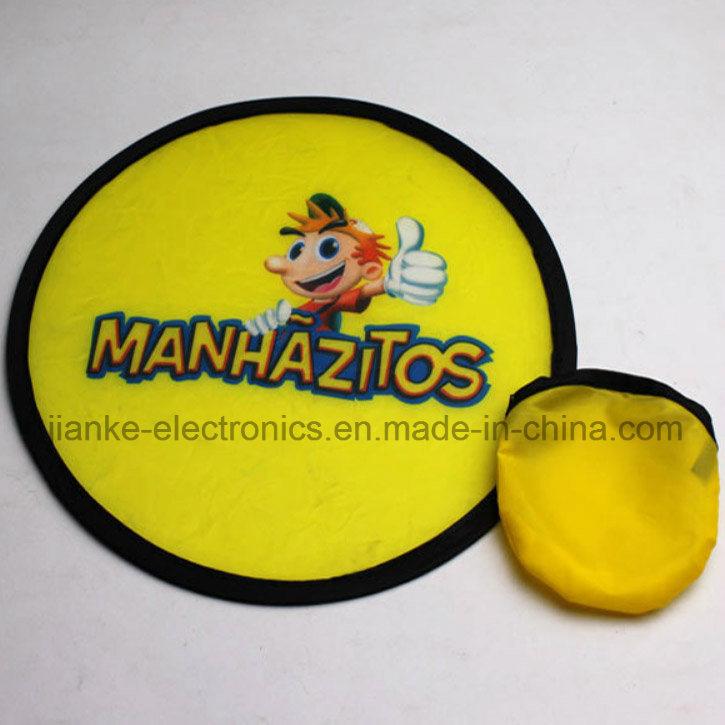 Promotional T190 Foldable Nylon Frisbee with Logo Printing (3488)