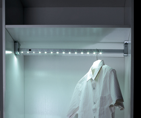 Battery Powdered Cloth Tube with LED Light