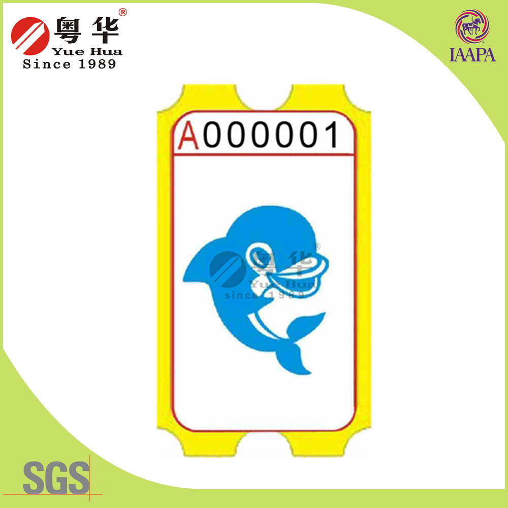 Yuehua Good Quality Game Amusement Ticket for Vending Machine