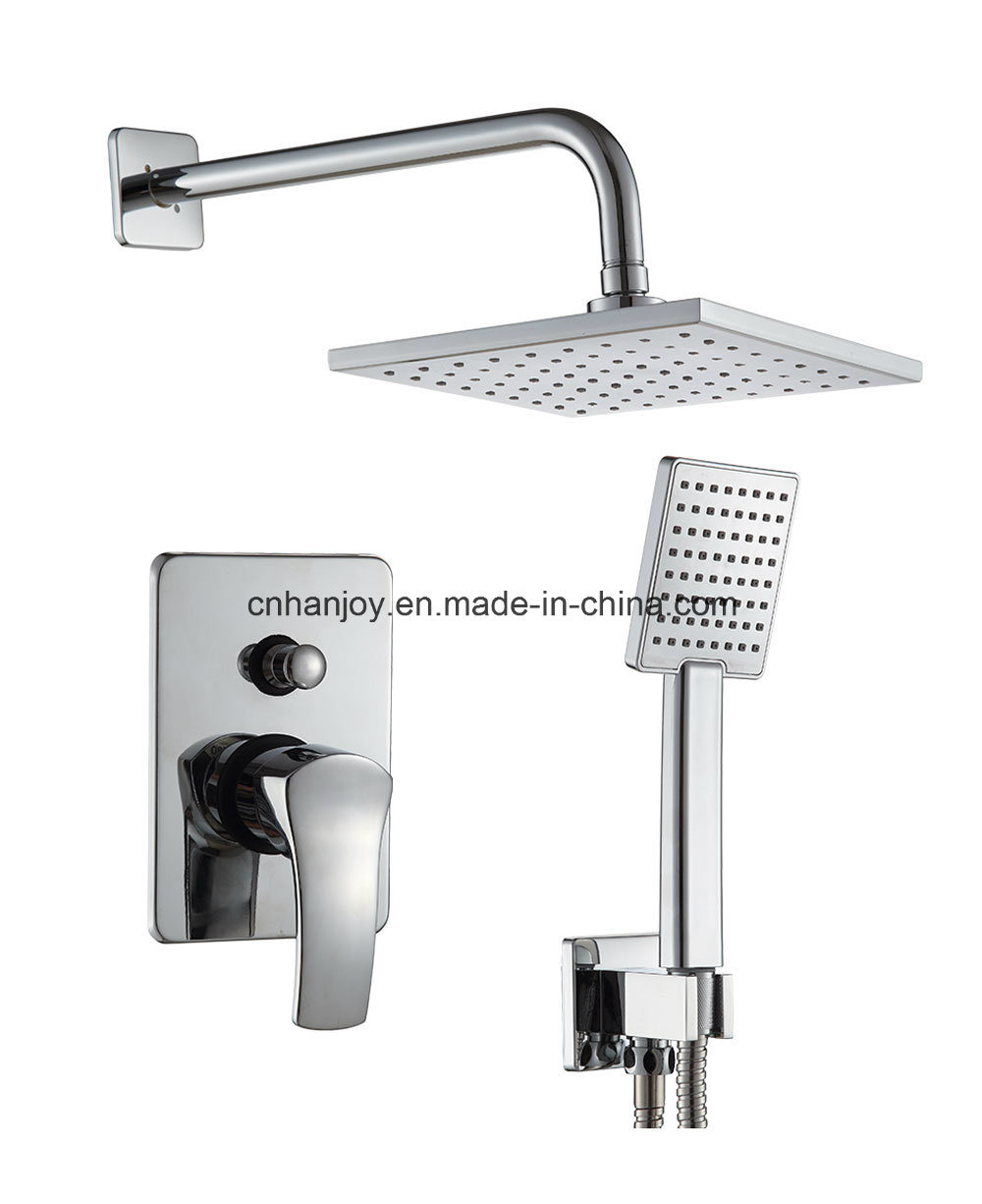 Wall Mounted Build in Shower Faucet (H01-205S)