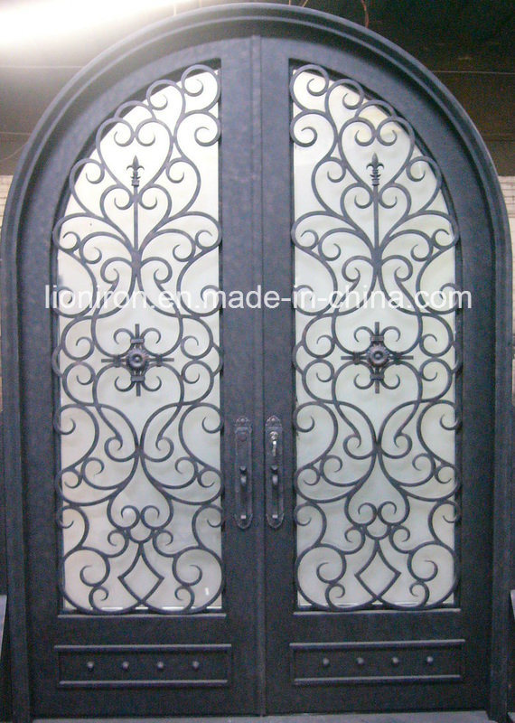 Best Hand Made Wrought Iron Exterior Doors for House
