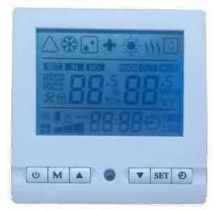 4 Compressors Air Source Heat Pump Controller