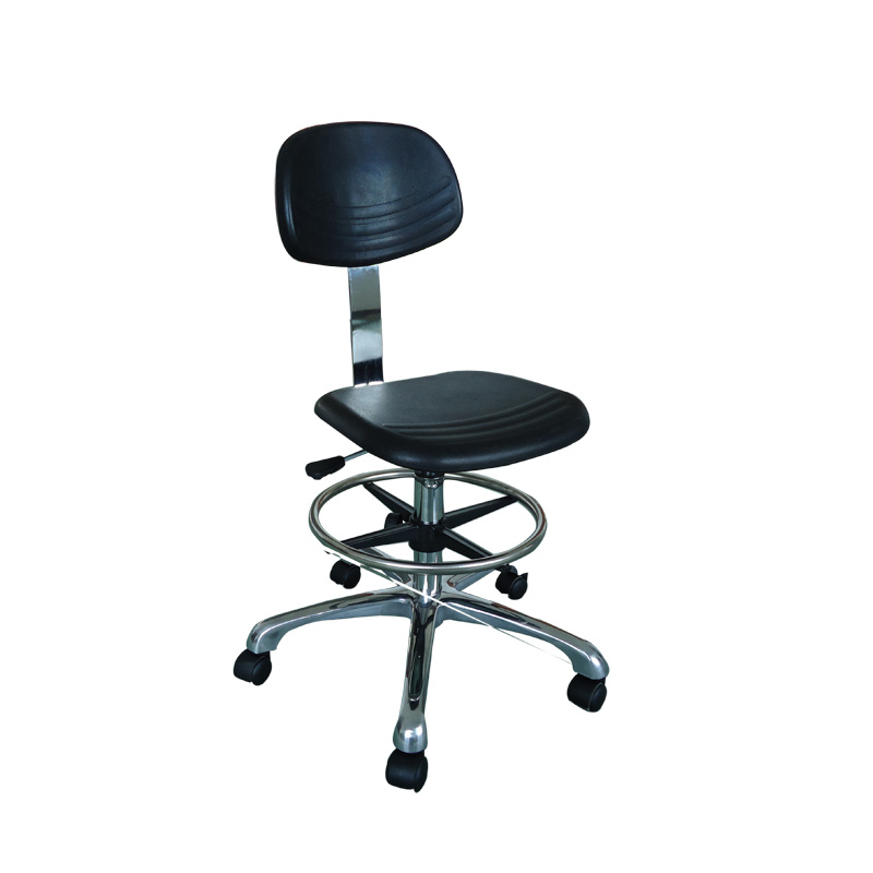 Hantislip Textured Surface ESD Chair for Cleanroom Use