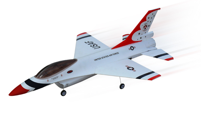1068932- 64mm Edf Brushless Remote Control RC Jet RTF