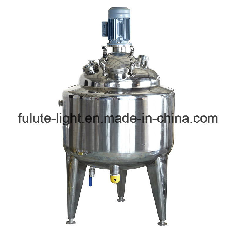 Industrial Stainless Steel Fermentor with Jacket