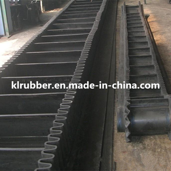 High Quality Inclined Corrugated Sidewall Conveyor Belt