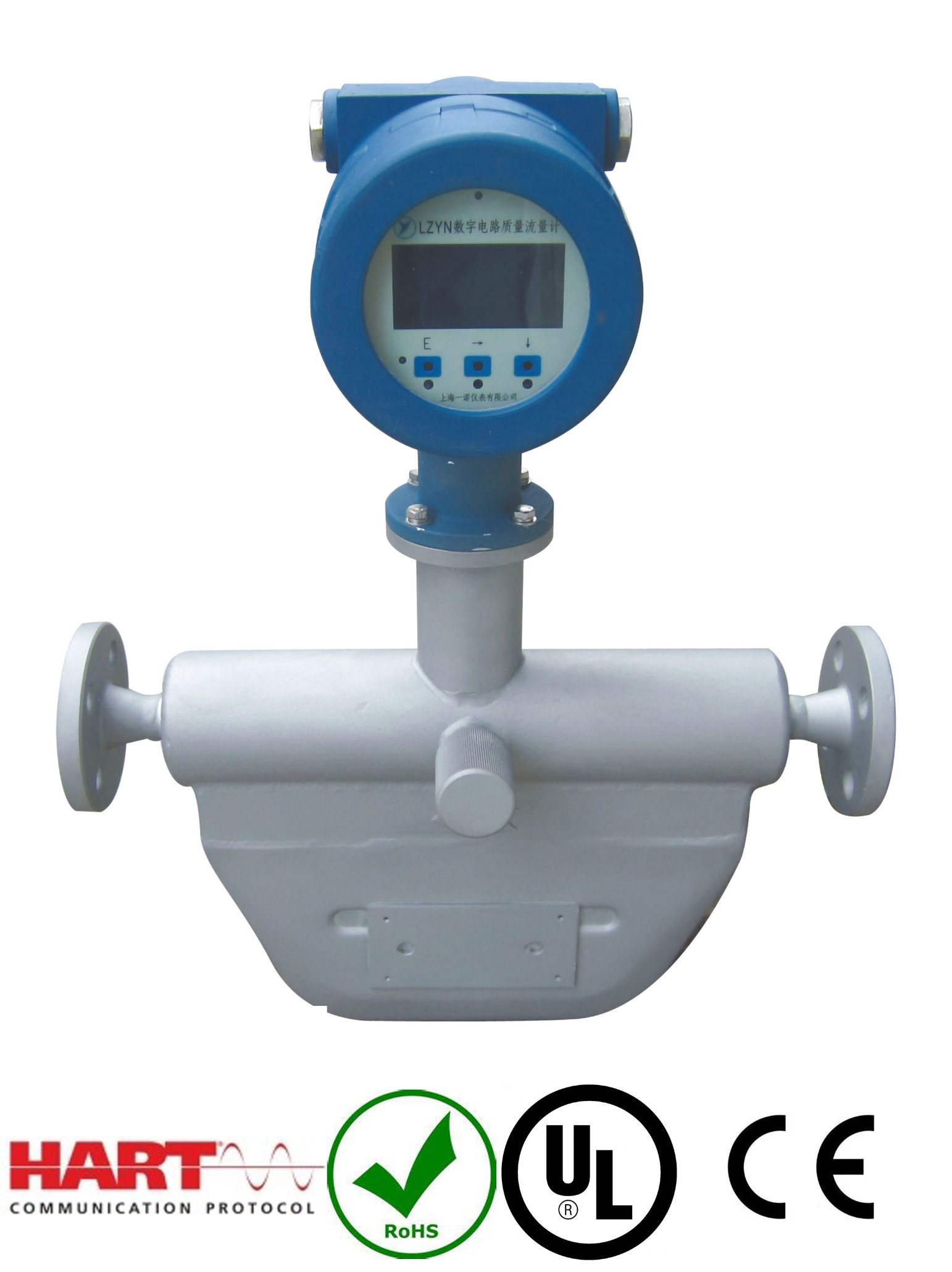 CNG Type Coriolis Mass Flow Meter with Ce Approval