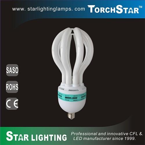 8000hrs Lifetime Lotus Shape 80W PBT CFL Lamp