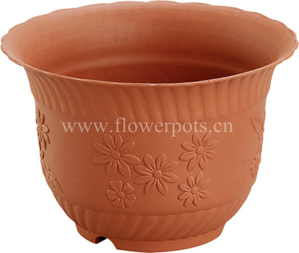 Decorative Plastic Flower Planter (KD3601-KD3604)