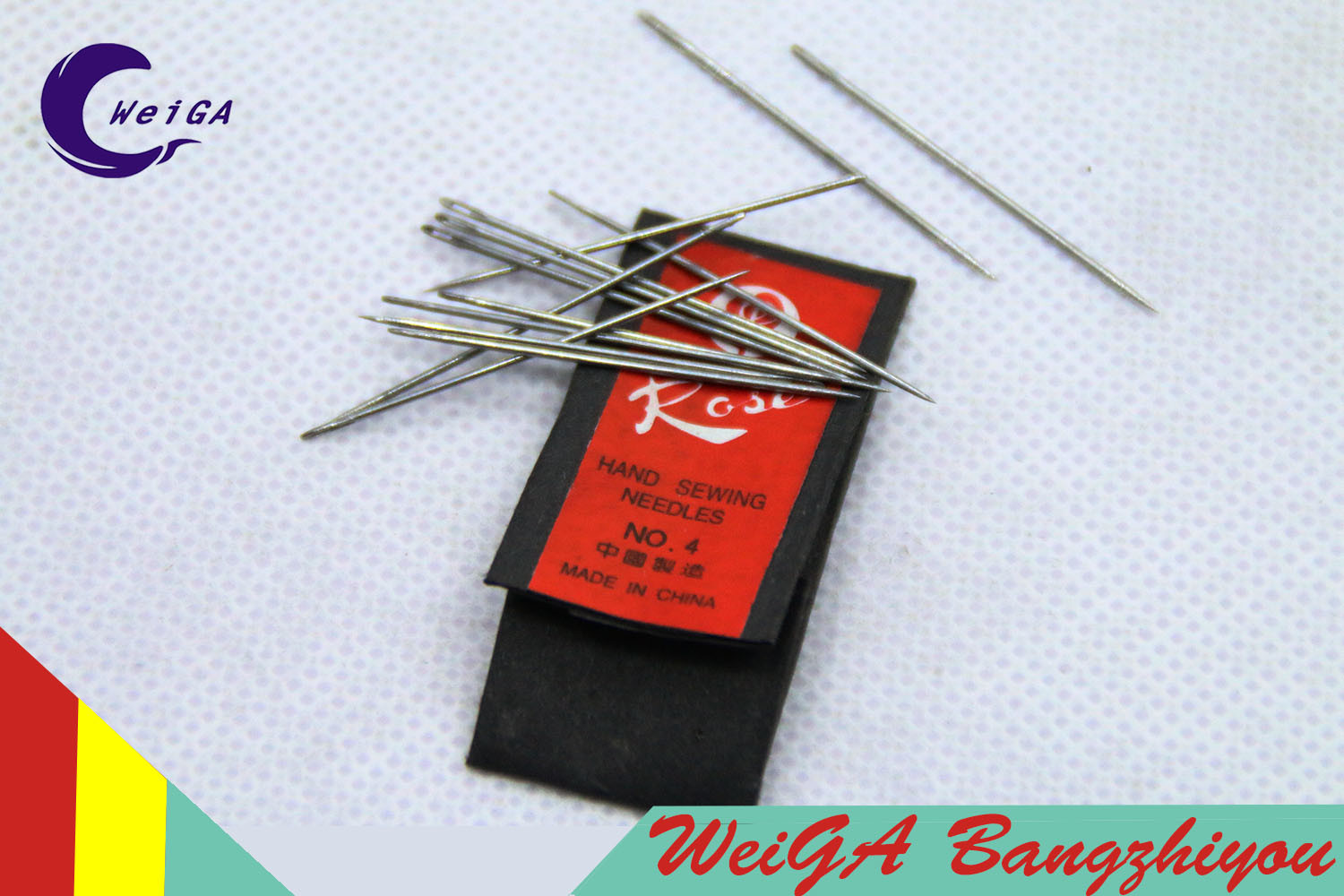 Original Rose Brand Hand Sewing Needle No. 4