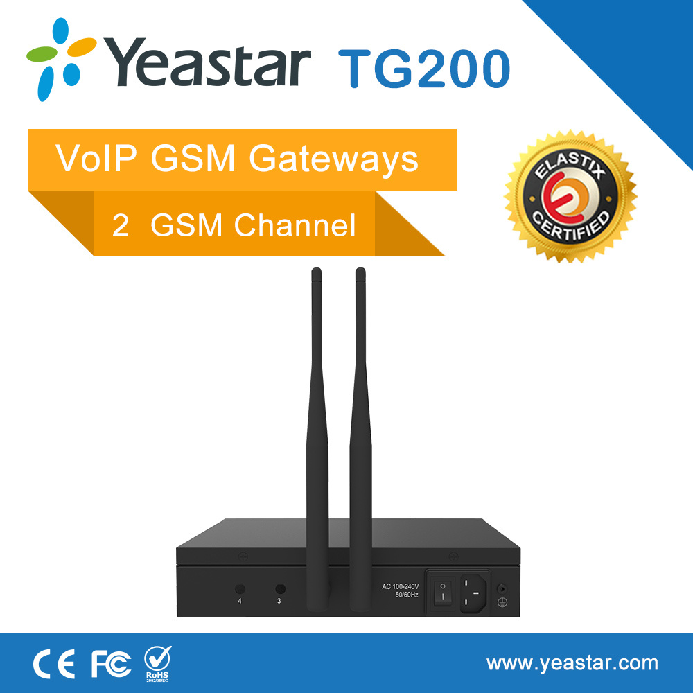 Yeastar 2 SIM Card Ports VoIP GSM Gateway