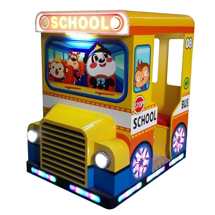 Coin Operated Playground Equipment Kids Ride Game Machine for Indoor & Outdoor Playground (D013)