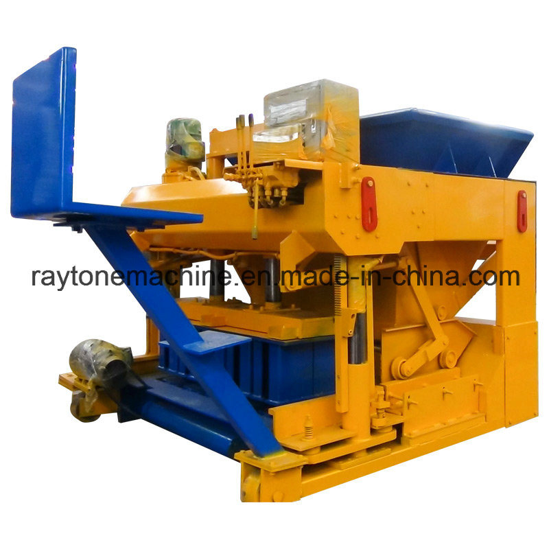 Saudi Arabia Mobile Concrete Block Making Machine
