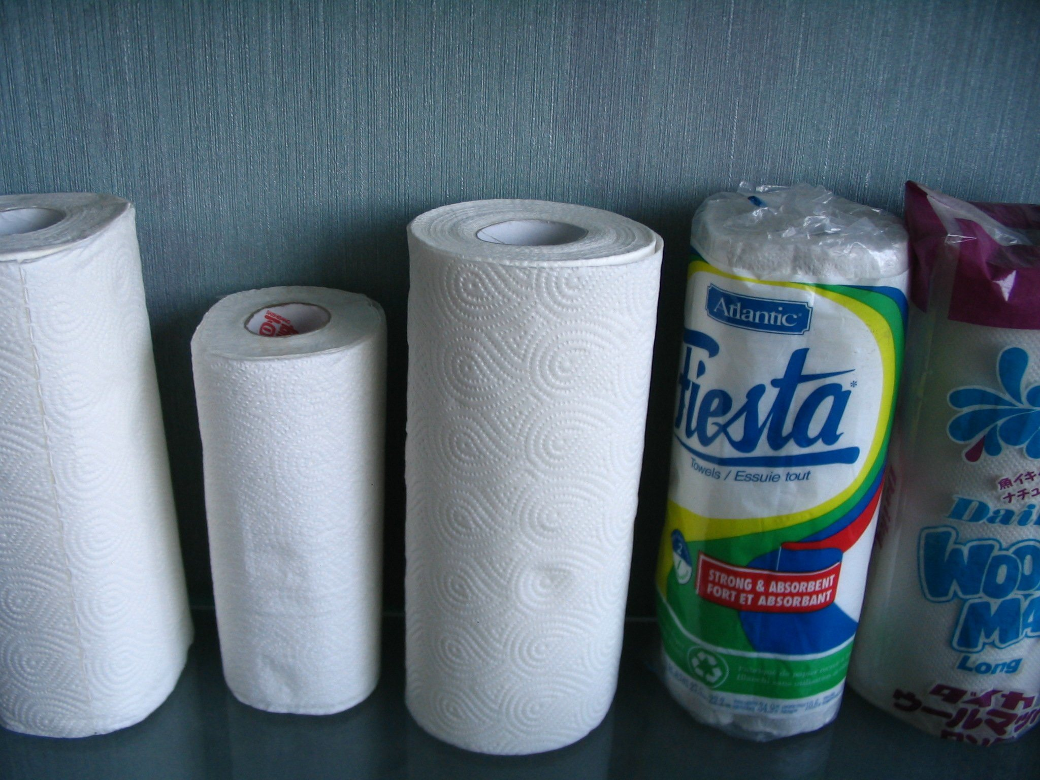 Kitchen Cleaning Paper Towel Rolls