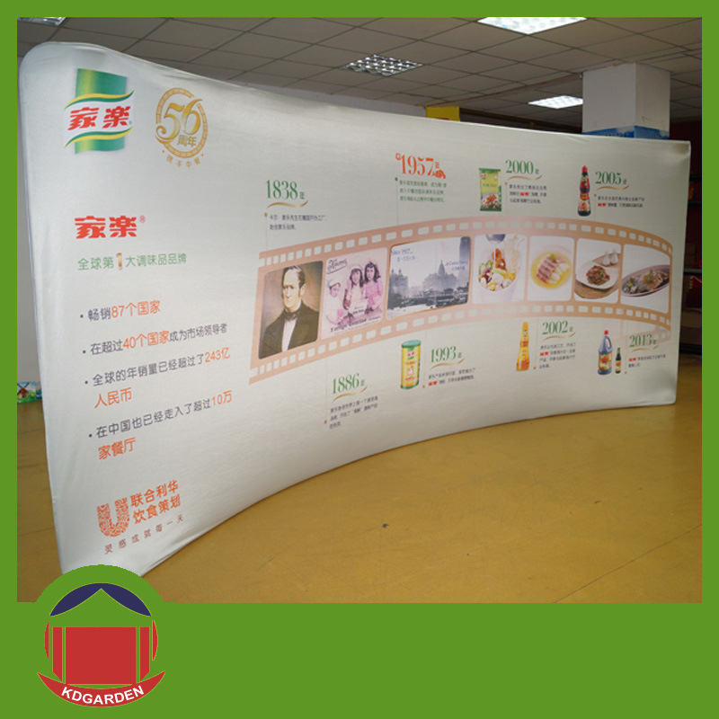 Outdoor Product Curved Wall Banner