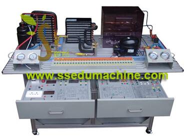 Air Conditioner Refrigerator Trainer Didactic Equipment Educatinal Stand Vocational Training Equipment