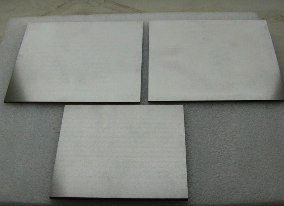 Annealed Pure 99.95% Tungsten Sheet T1.5*50mm*L