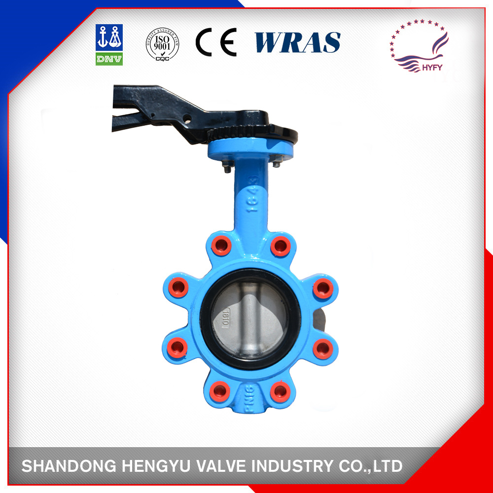 Lug Type Butterfly Valve with Single Shaft