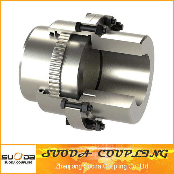 Gear Coupling with Brake Wheel Gau Type