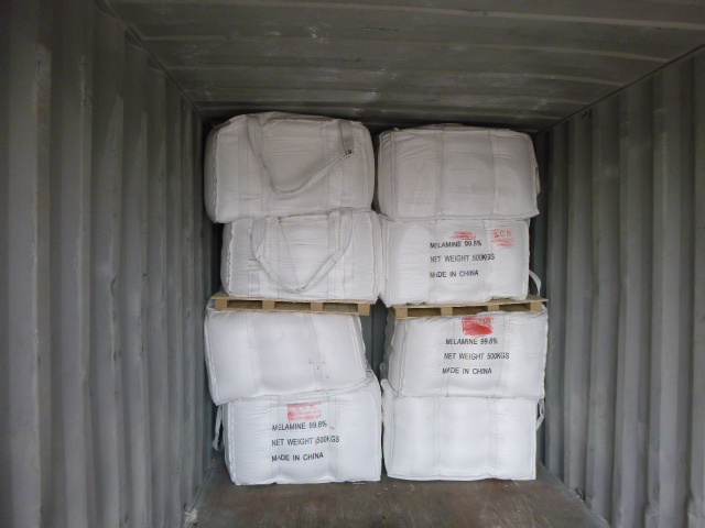 High Quality of Melamine 99.8% Min for Formaldehyde Resin