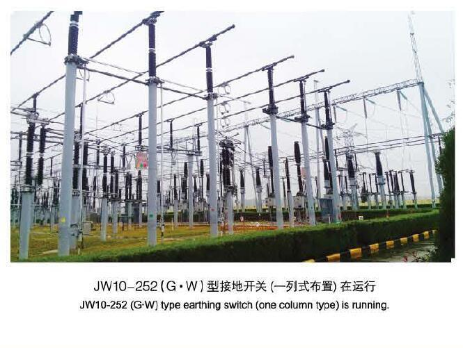 Jw10 Series Outdoor Hv AC Earthing Switch