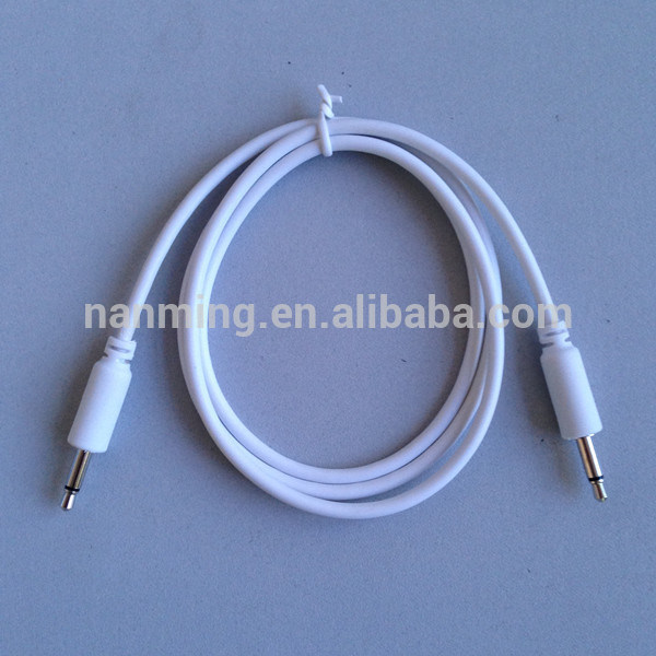 "1/8"" 3.5mm Mono Jack Patch Cable for Modular Synthesizer"