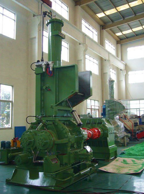 Intermeshing Rotor Rubber Banbury Mixer