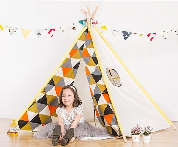 Fashion Factory Kid Toys Kids Teepee Indian Tents for Sale