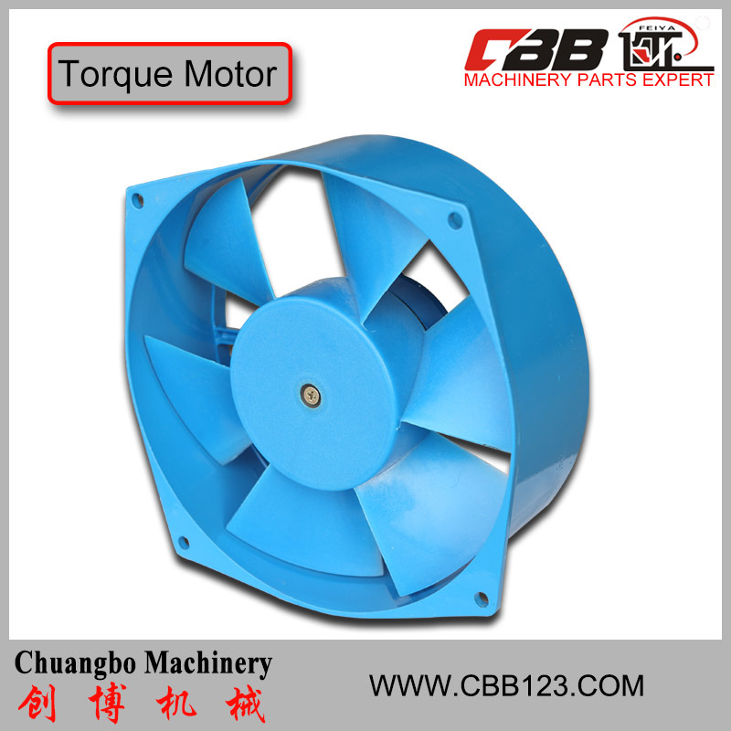 Machine Use Axial-Flow Fan for Cooling