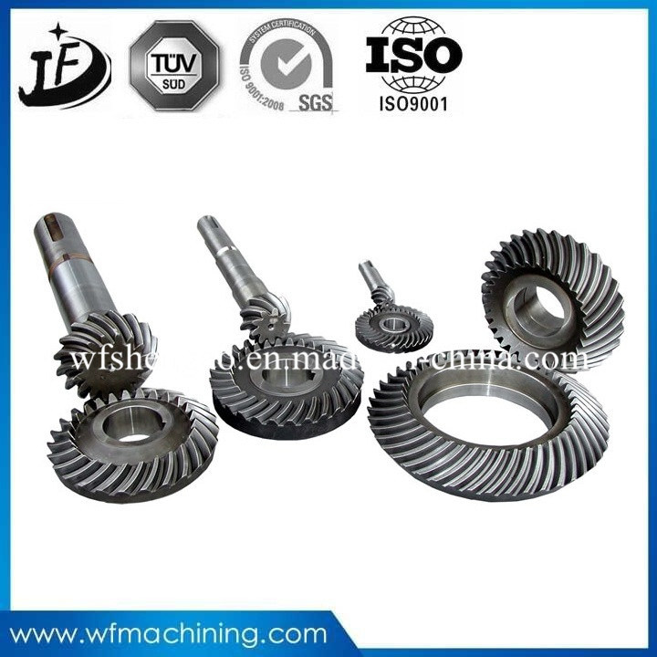 Steel/Brass Machining/Forging Pinion Differential/Bevel/Planetary/Sprocket Gear for Transmission