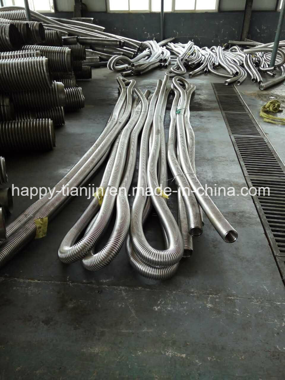 Annular Tube Stainless Steel Wire Braid Flex Metal Hose Pipe