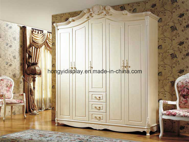 China Custom Made Cheap Indian Wooden Bedroom Wardrobe Designs