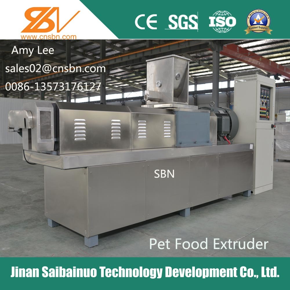 Stainless Steel Automatic Pet Food Processing Machine