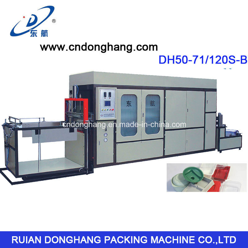 Plastic Tray Thermoforming Machine (DH50-68/120S-B)