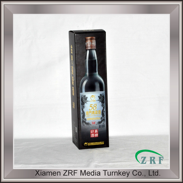 Corrugated Cardboard Box and Wine Bottle Printed Packaging Service