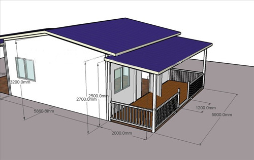 Low Cost Cheep Simple Room Prefabricated Modular Buildings