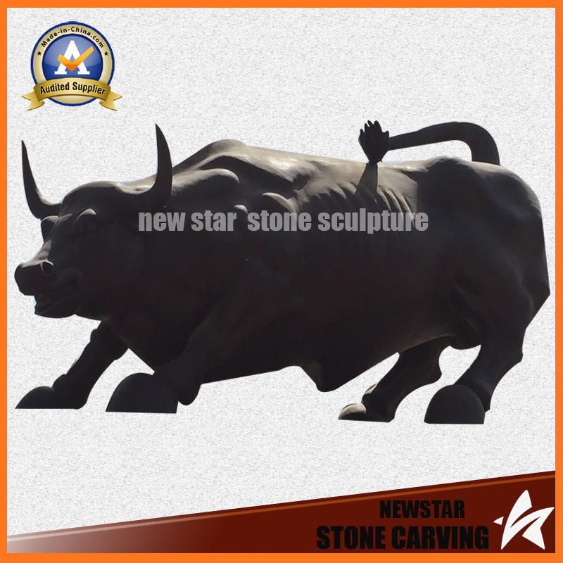 Bronze Sculpture Wall Street Bull Bronze Statue for Decoration