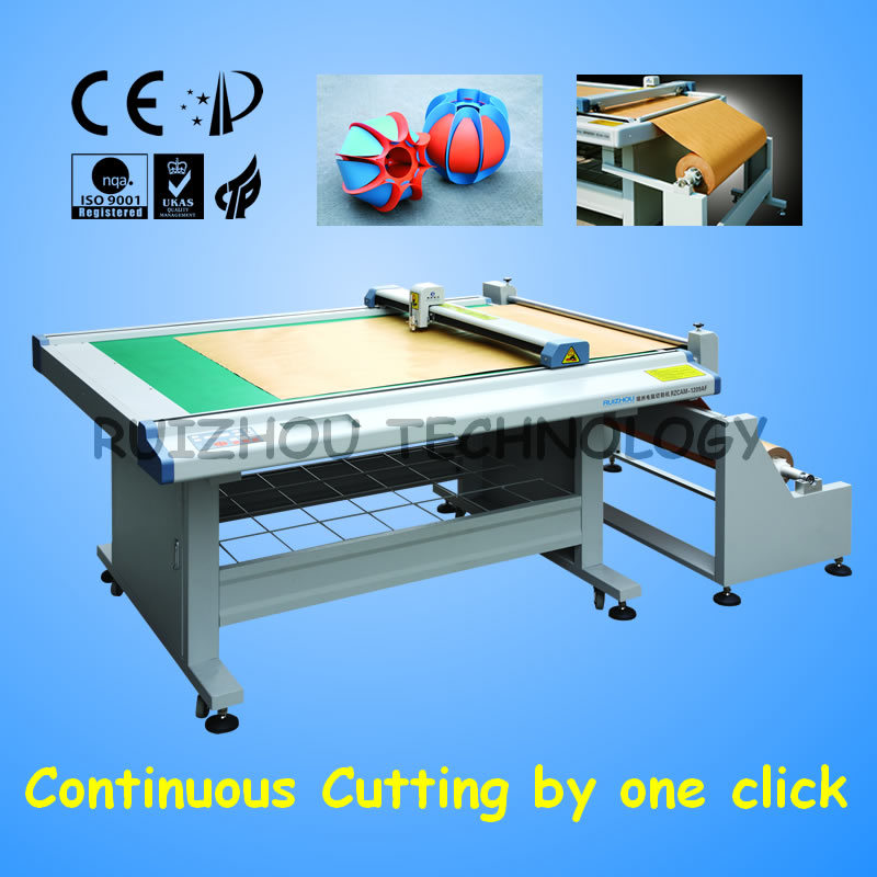 Flatbed Paper Sample Cutter (RZCAM-1209AF)