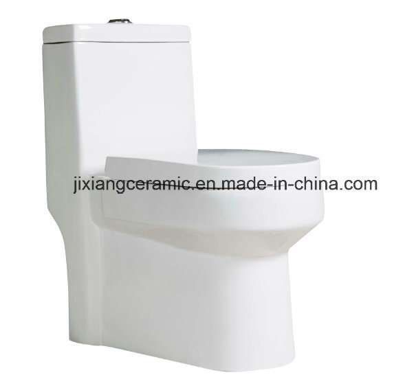 Ceramic Wc One-Piece Toilet 11# Super Siphonic with Saso/Ce