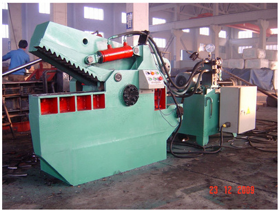 Q43 Series Hydraulic Auto Fast Alligator Shear-630