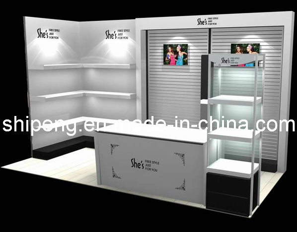 Cosmetic Shop Design, Cosmetic Display Kiosk photo,Details about ...