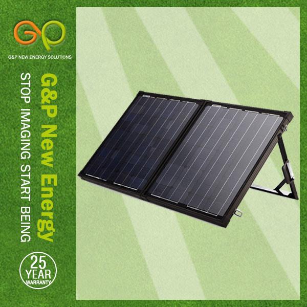 New G&P 100W 2 Folding Solar Panel Gp-2f-Solar100W