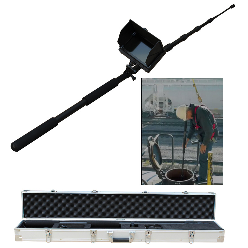 "1080P Full HD Telescopic Pole Pipe Inspection camera with 7"" Monitor"