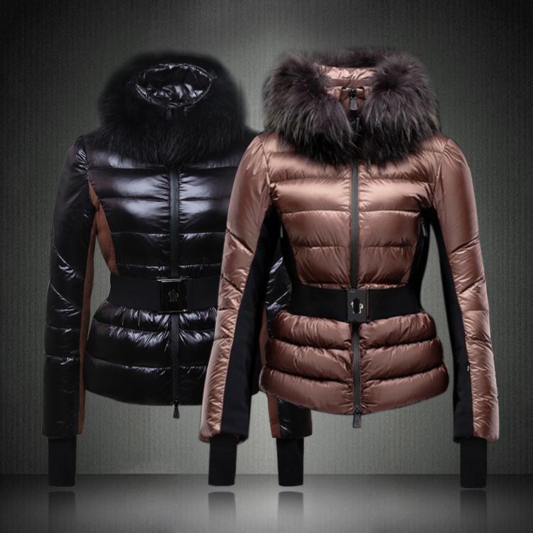شتاء دافي-اروع الملابس الشتويه-2014 Fur-Collar-Winter-Wo