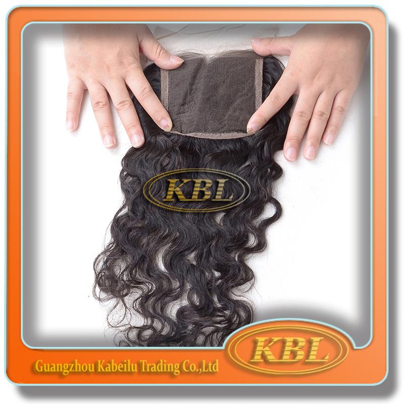 100 Percent3.5*4 Brazilian Lace Closure with Virgin Hair