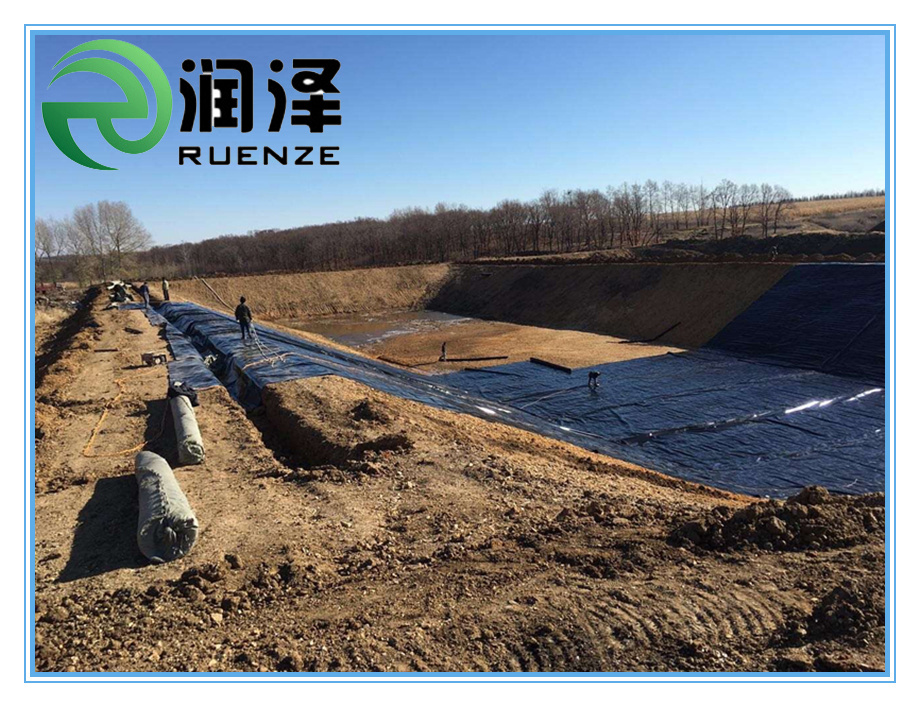 HDPE Geomembrane for Fishpond