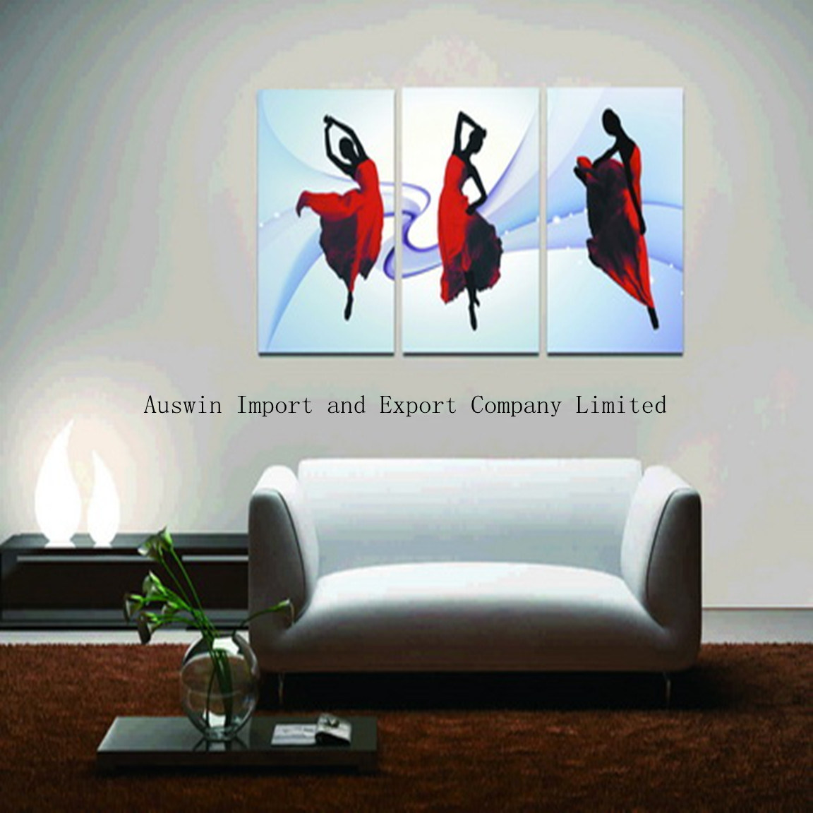 china dancer canvas photo living room canvas hanging photo