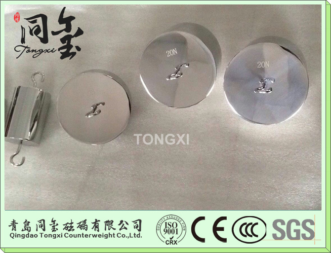 F1 F2 M1 Stainless Steel OIML Standard 1-20kg Test Weight Single Hook Calibration Weights