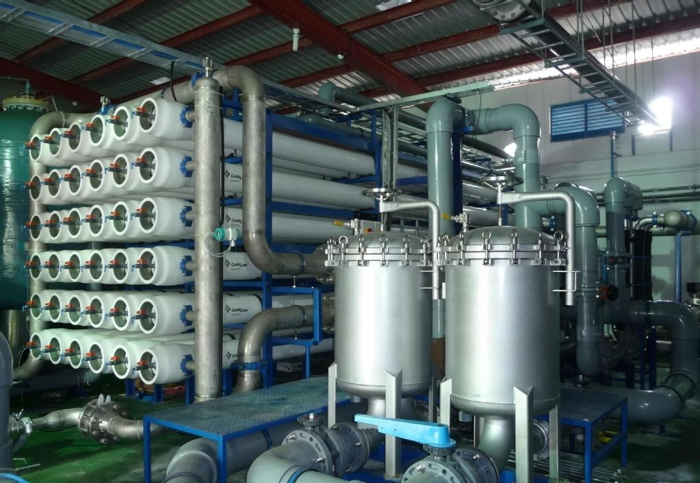 Marine Seawater Desalination Equipment with Energy Recovery Device